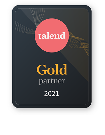 Disy is Talend Gold Partner 2021.