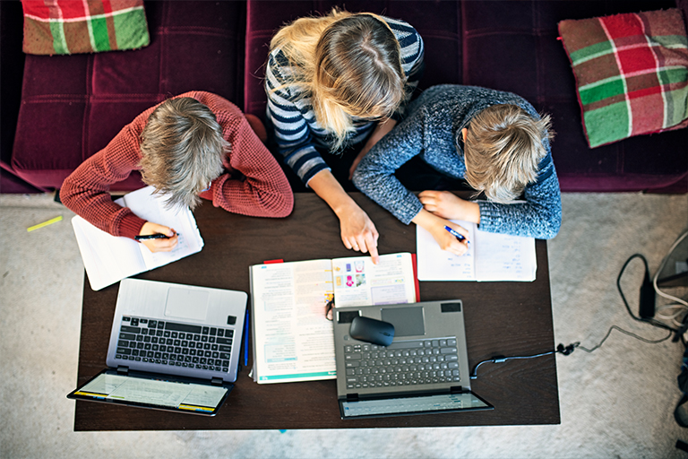Fit fürs Homeschooling: Disy stellt technische Ausstattung für Sybelcentrum