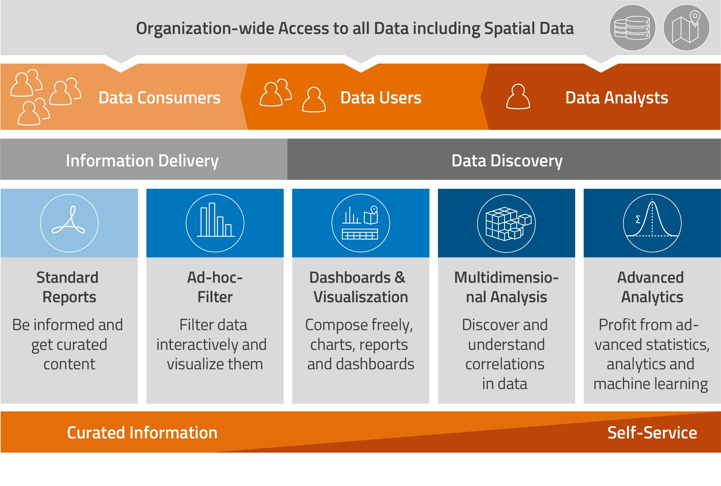 A single data analysis tool for your entire organization – collaboration and on-demand access