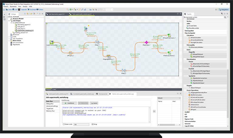 Automatisierter Workflow in GeoSpatial