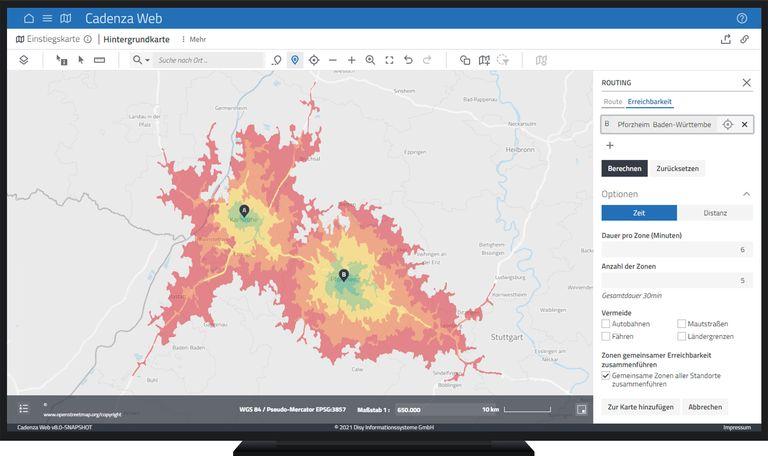 Mehr Geo-Analytics mit der Erreichbarkeitsanalyse und weiteren GIS-Funktionen