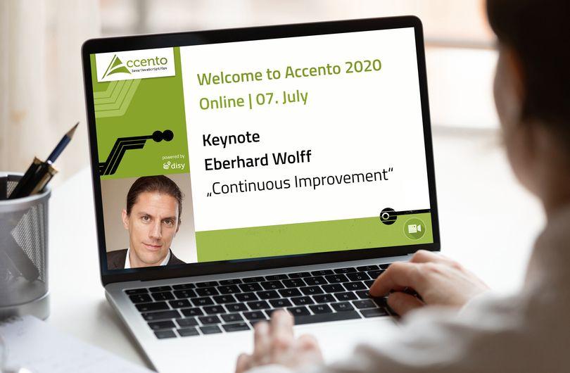 Accento Digital bietet Programm mit hochkarätigen Speakern