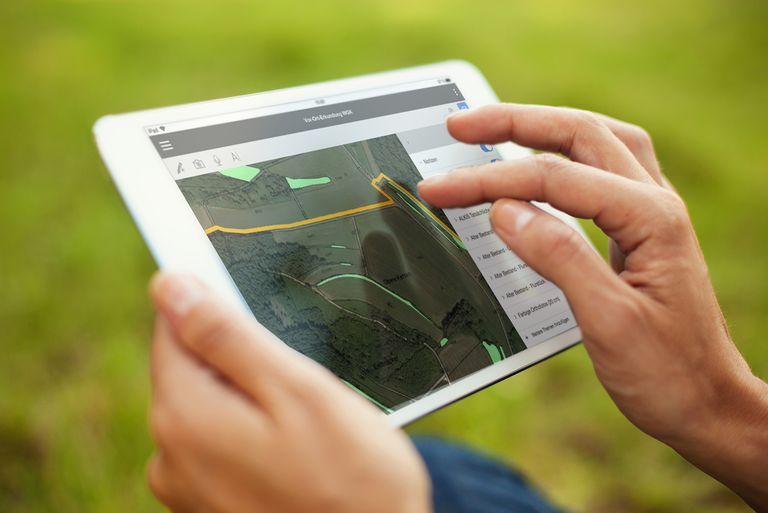 Mobile GIS für Smartphone und Tablet mit Cadenza GIS 2go