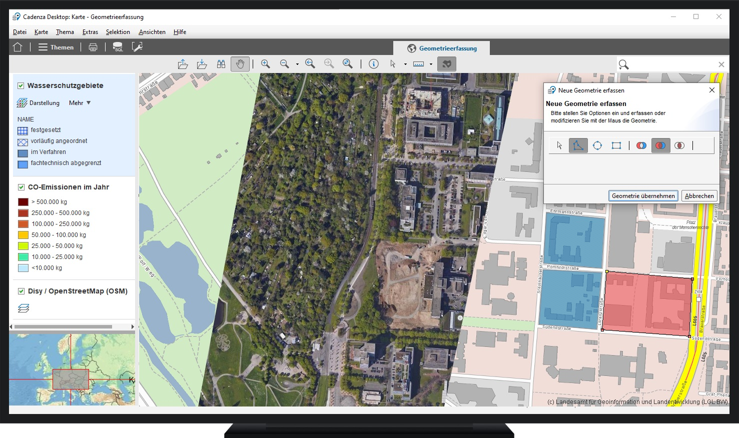 Work Independently Using the Desktop GIS or Make Spatial Information Available Across the Entire Organization