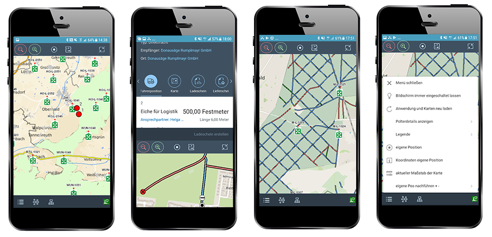 Embedded GIS Functions in Mobile Devices